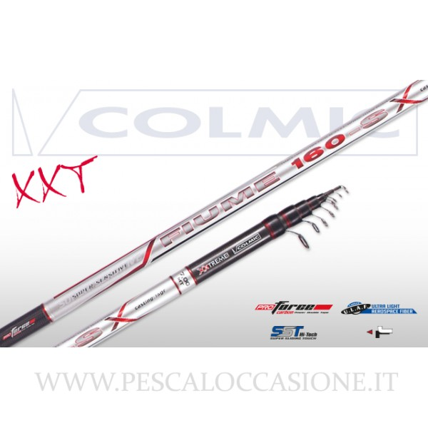 Colmic Canne Bolognesi Fiume Fiume Fiume 160-s  DP f66d2f