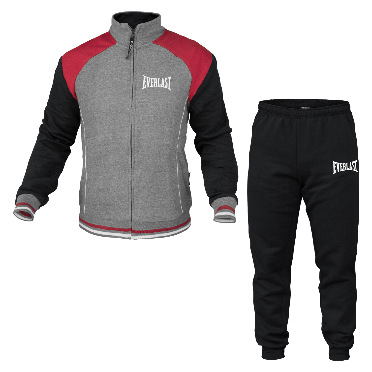 Tuta-Homewear-Uomo-EVERLAST-Cotone-Felpato-Full-Zip-Art-31005