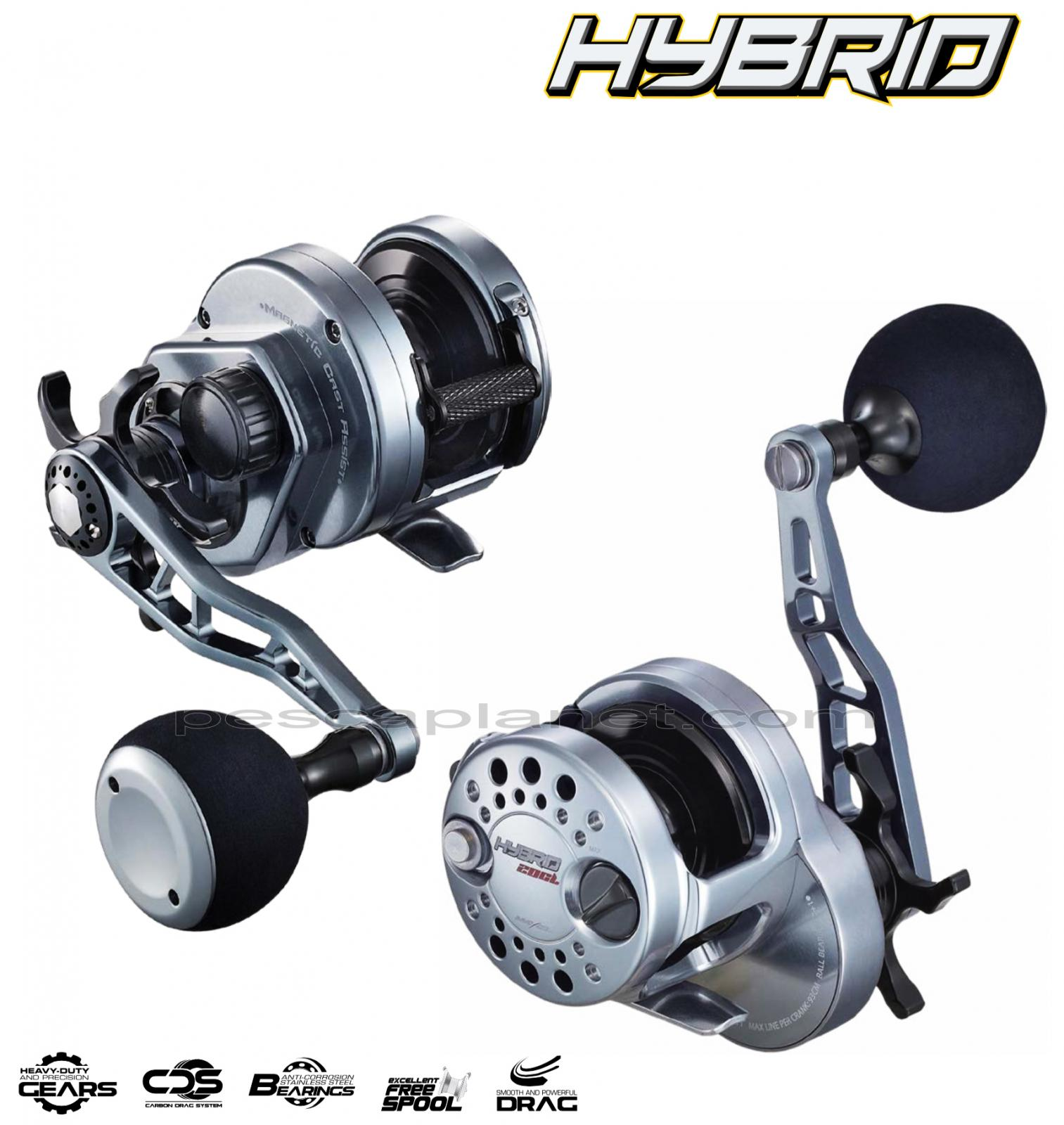 03004020 Mulinello Trabucco Hybrid pesca mare Slow Pitch vertical Jig       PPG