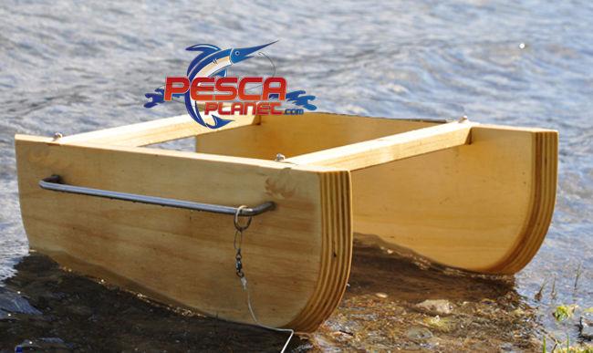 20553 barchino divergente scannetto legno inox pesca for Barchetta da pesca