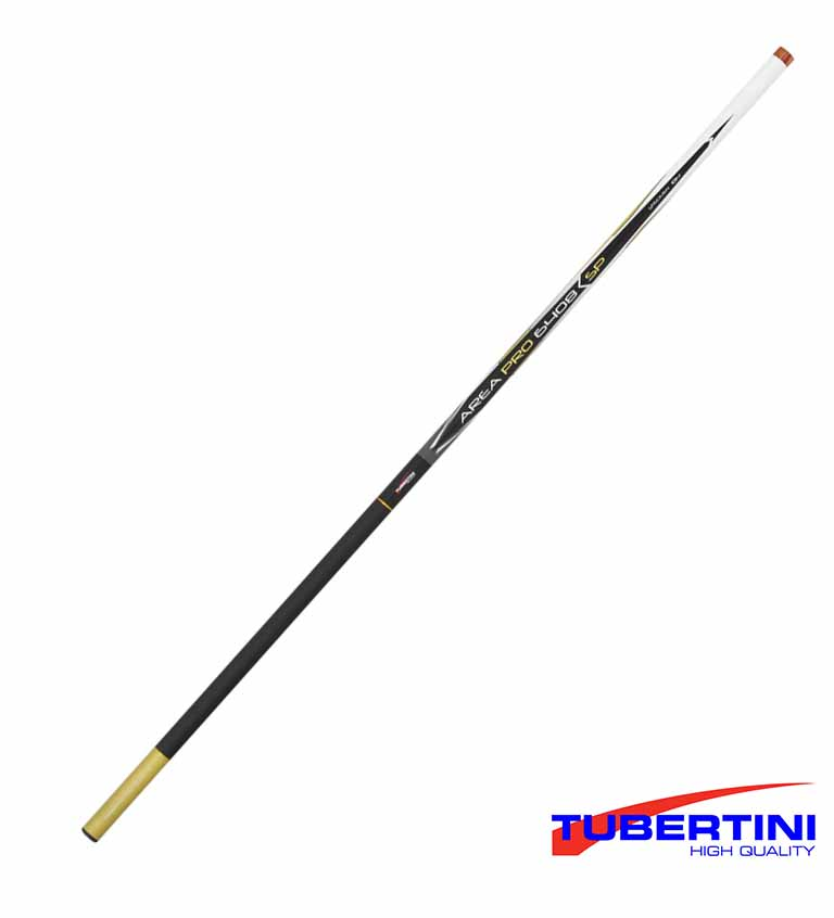 Canna da pesca fissa telescopica in carbonio Tubertini fast bleak 3,5 Metri