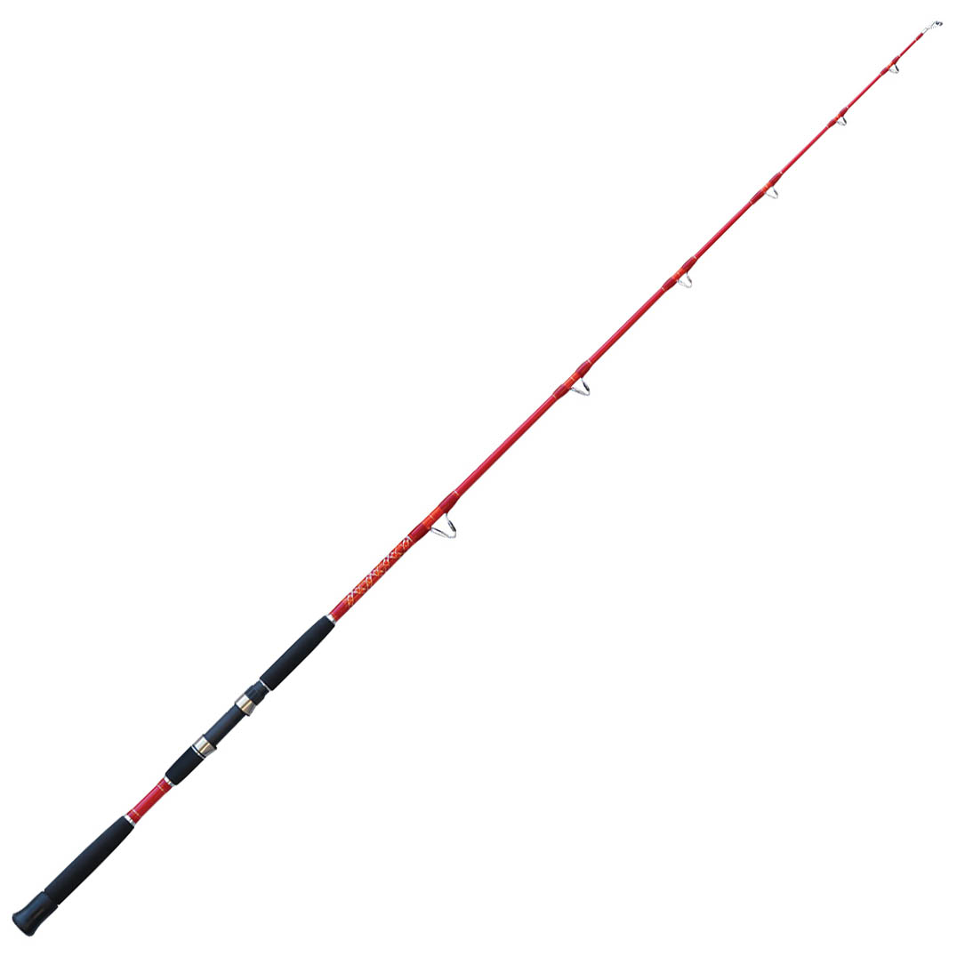 D0900408 Canna Pesca Traina Stand Up Falcon Peppers Vortex 6/' 20-35 Lbs PP