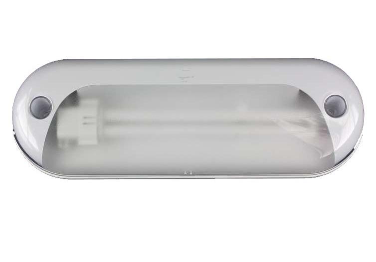 Plafoniera Per Esterno Camper : Nuova plafoniera luce esterno camper veralux bianca