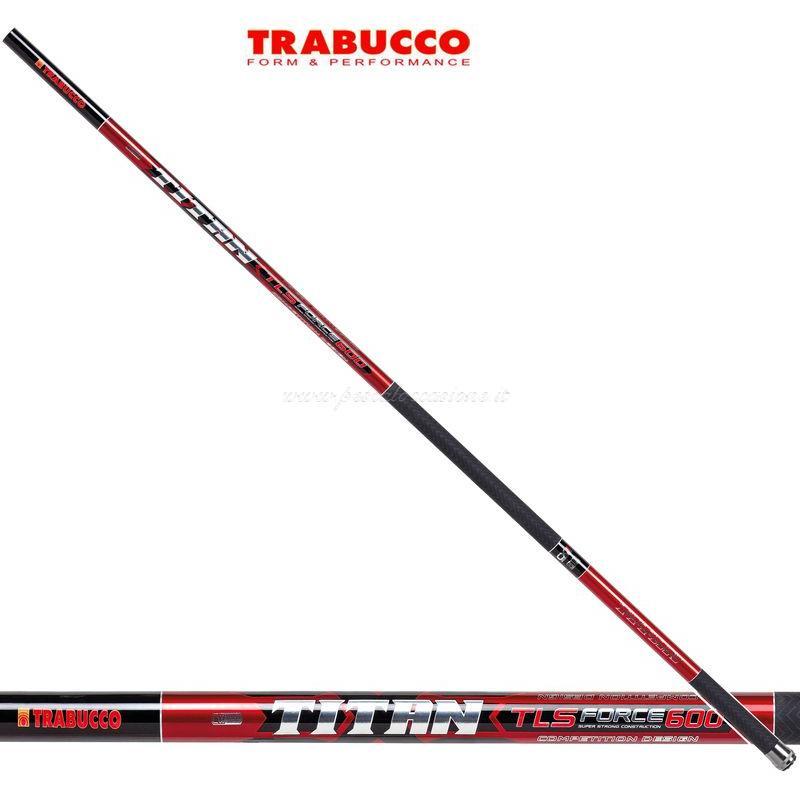 Trabucco Canna Pesca Fissa Fissa Fissa Titan TLS Force SP 66651d