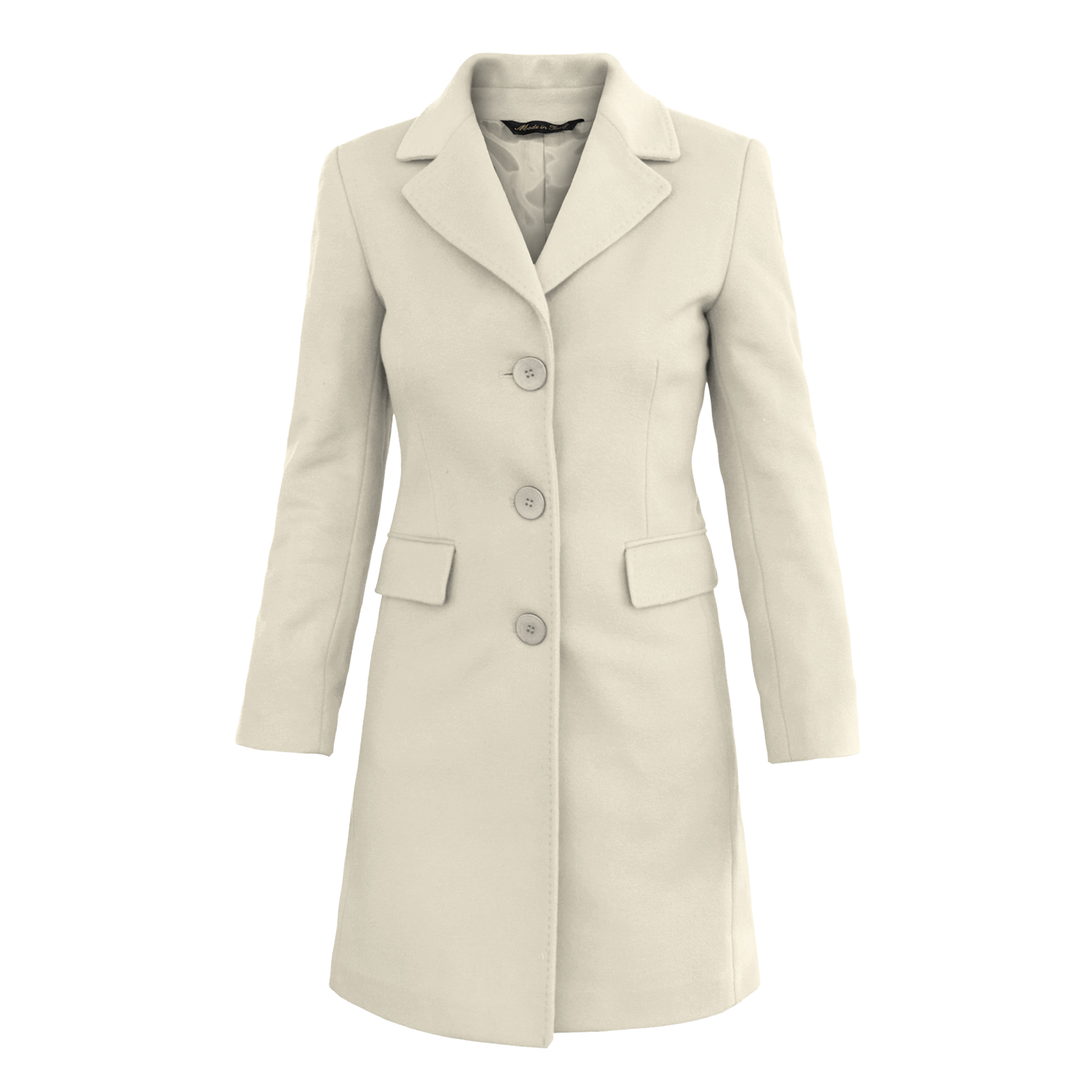 Cappotto donna misto cahmere Fred Perry
