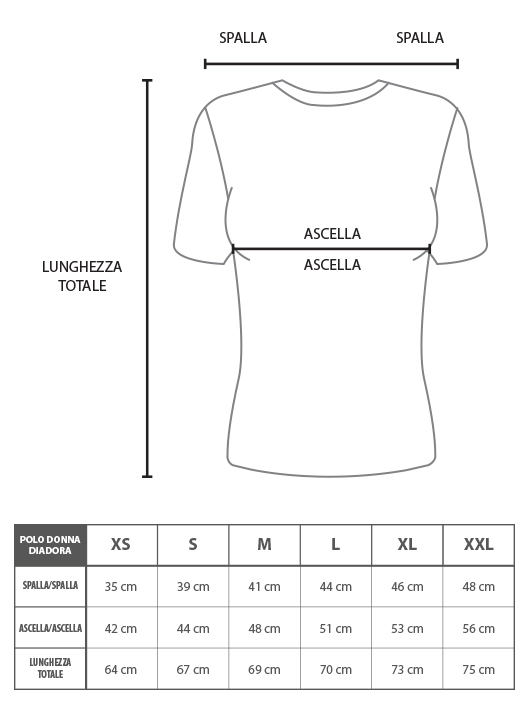 Dettagli su Polo Donna DIADORA Cotone Pique Vari Colori Taglia Da XS a XXL Art.015