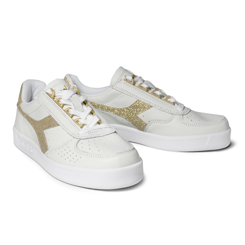 elite Scarpe Donna Ebay B Gold Modello Sneakers White Diadora xPUq7Z 815f1cac5a6