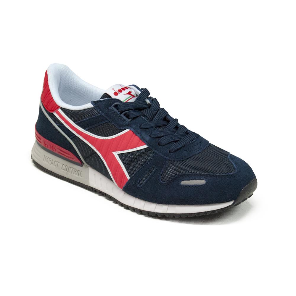 Dettagli su Scarpe Sneaker DIADORA Modello Titan II Blue Red C2546